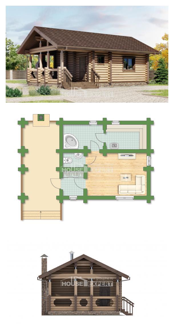 Проект дома 060-003-П   House Expert