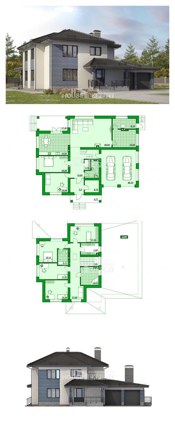 Проект дома 340-005-П | House Expert
