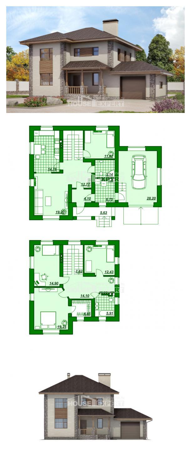 Проект дома 185-004-П | House Expert