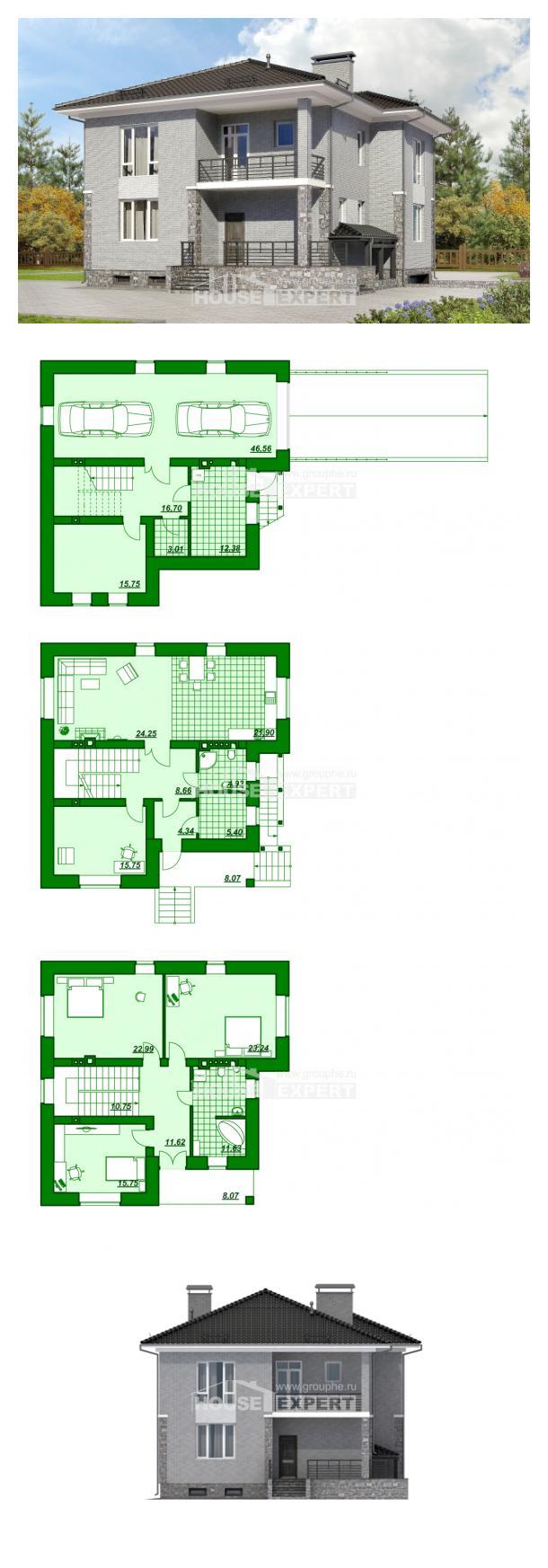 Проект дома 275-004-П   House Expert